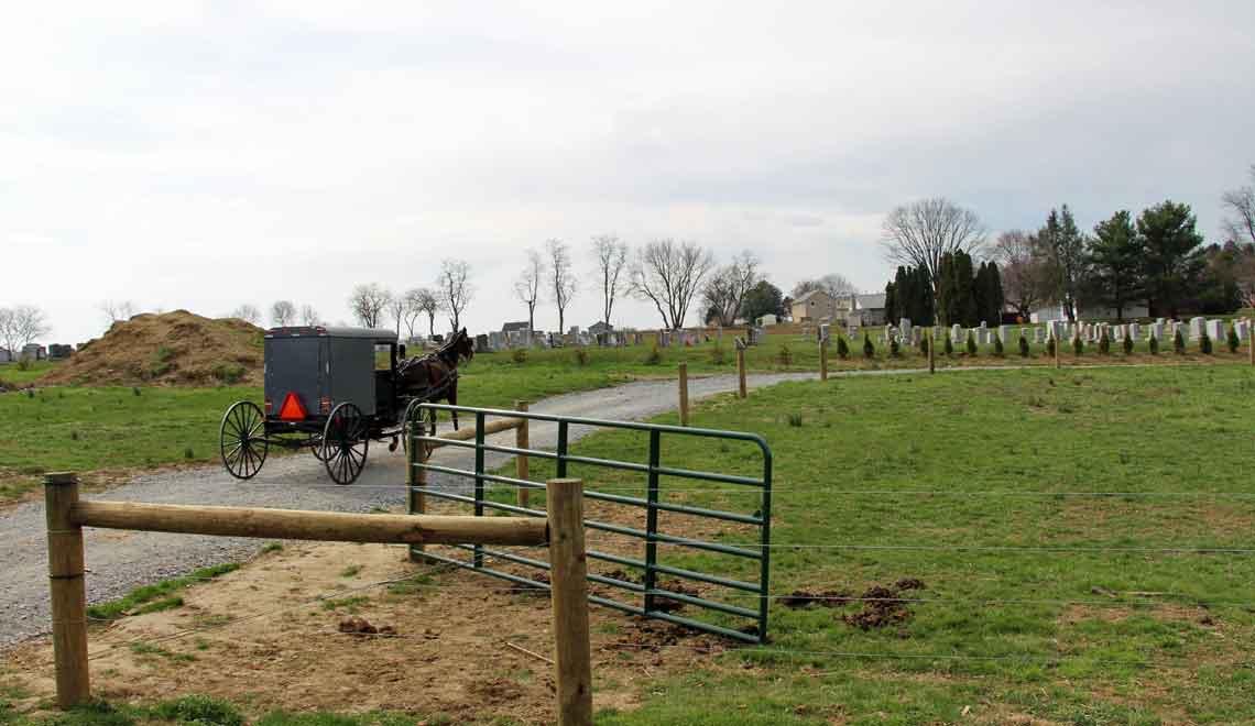 Amish Bed and Breakfast near Strasburg PA
