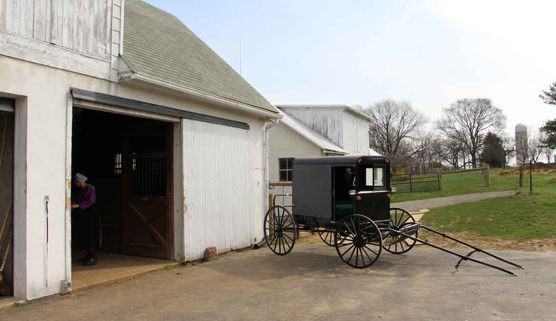 Amish Bed and Breakfast near Strasburg PA
