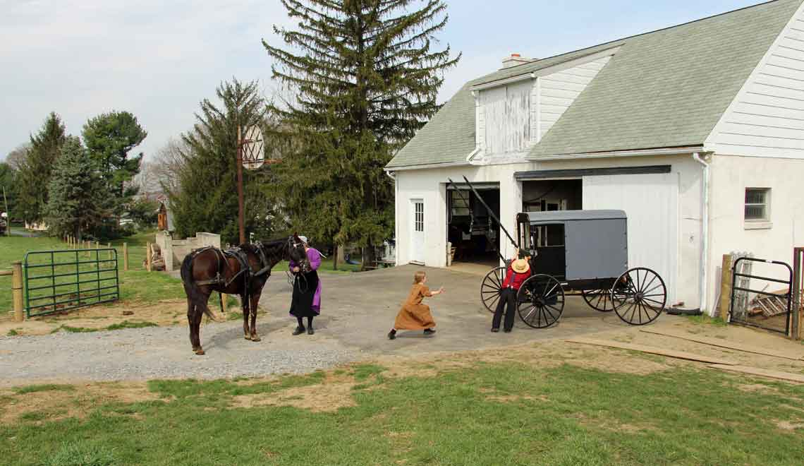 living with the Amish in Lancaster County Pennsylvania