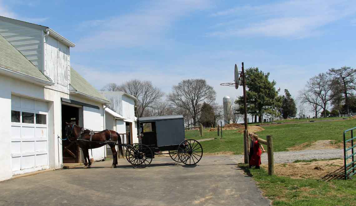 Amish vacation home