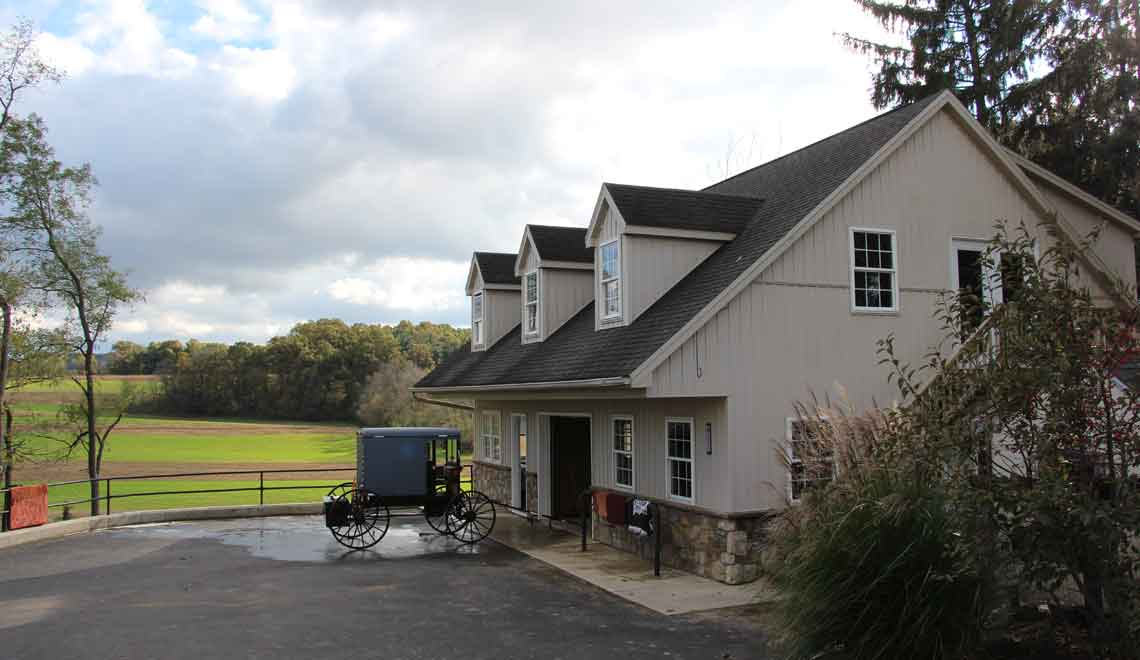 Amish lodging near Strasburg PA